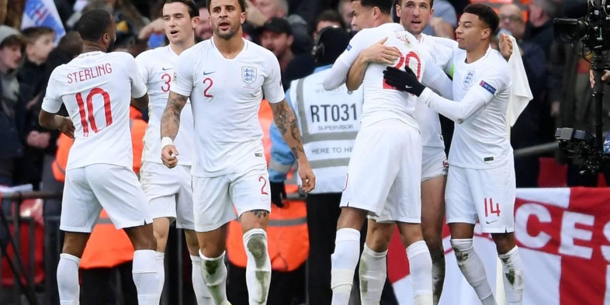 Inglaterra remonta y deja fuera a España de Liga de Naciones