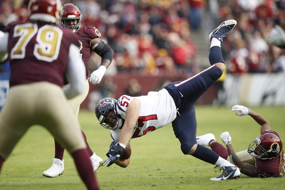 Texans 23-21 Redskins / Getty Images