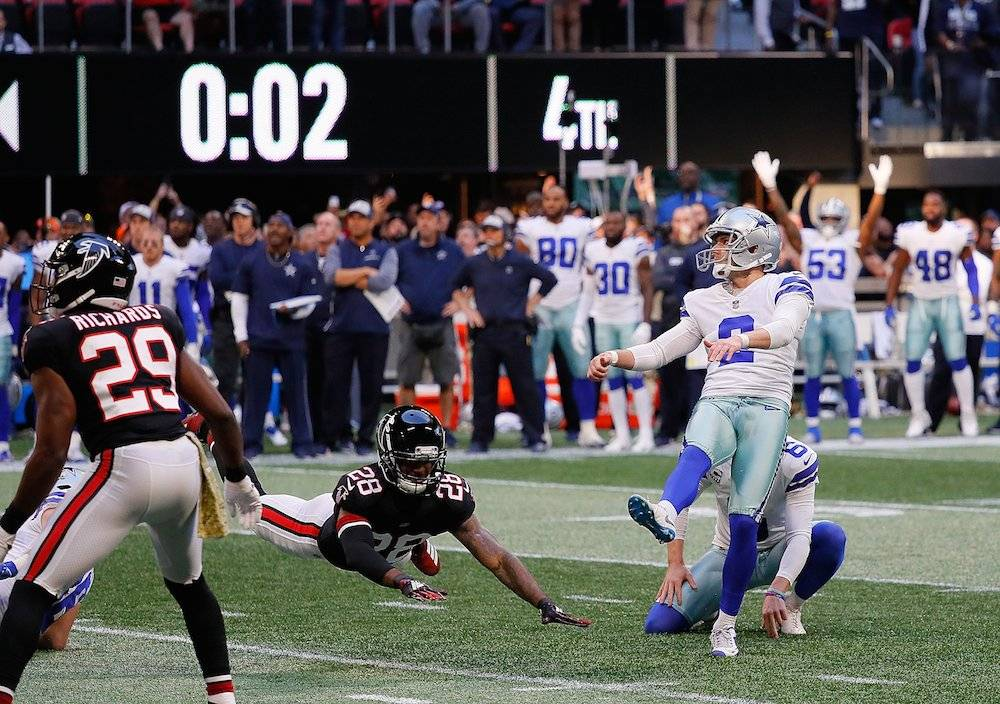 Cowboys 22-19 Falcons / Getty Images