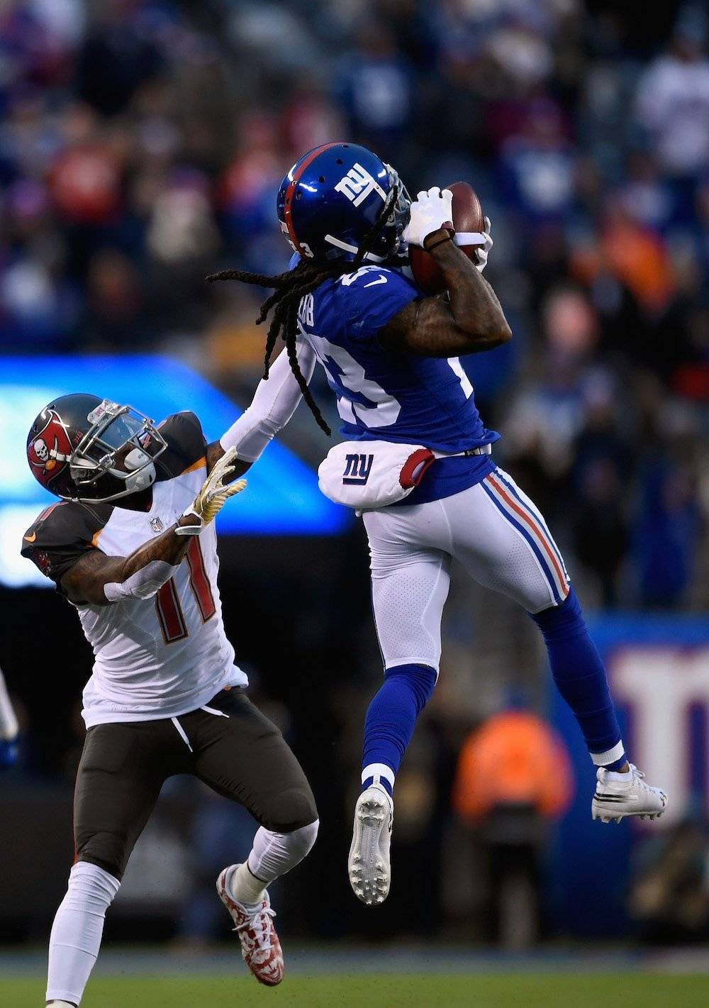 Buccaneers 35-38 Giants / Getty Images