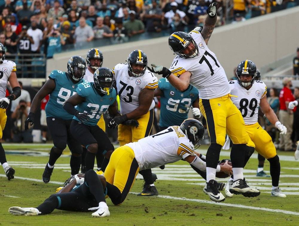 Steelers 20-16 Jaguars / Getty Images