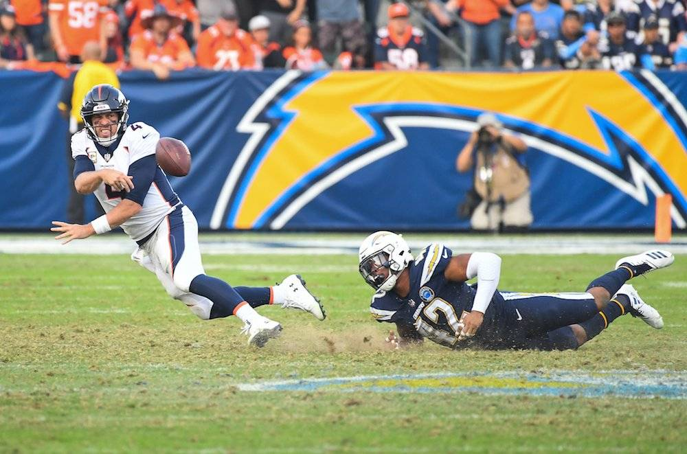 Broncos 23-22 Chargers / Getty Images