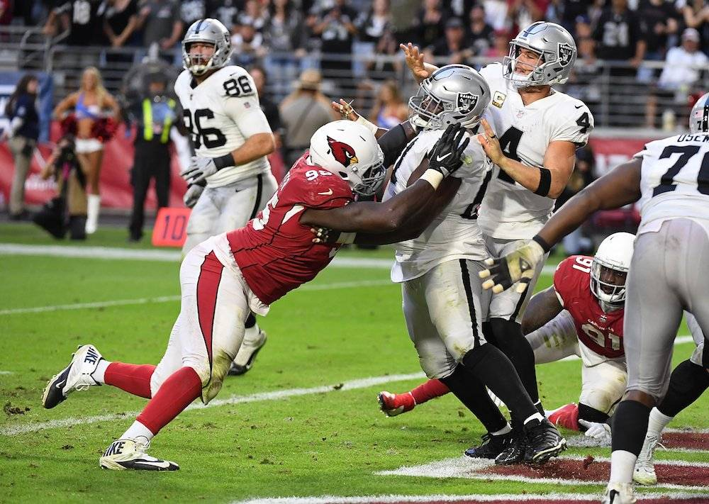 Raiders 23-21 Cardinals / Getty Images