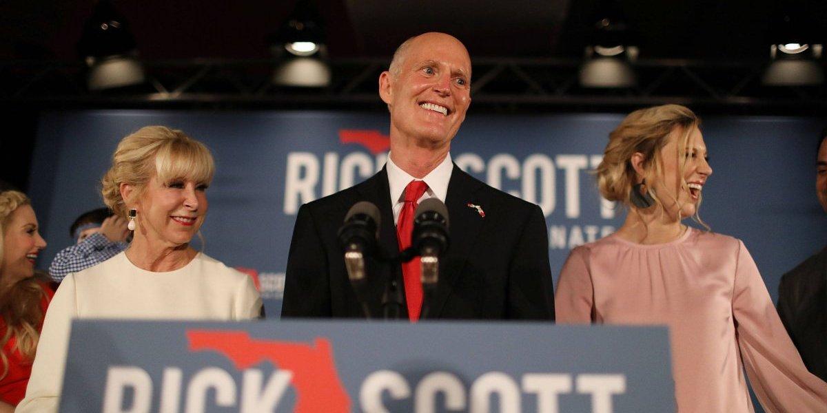Rick Scott vence a Bill Nelson en carrera de senador por Florida