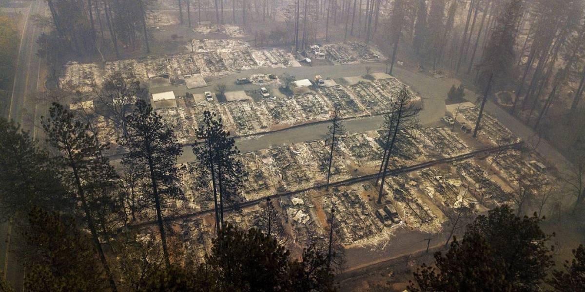 Pronostican lluvias en área quemada del norte de California