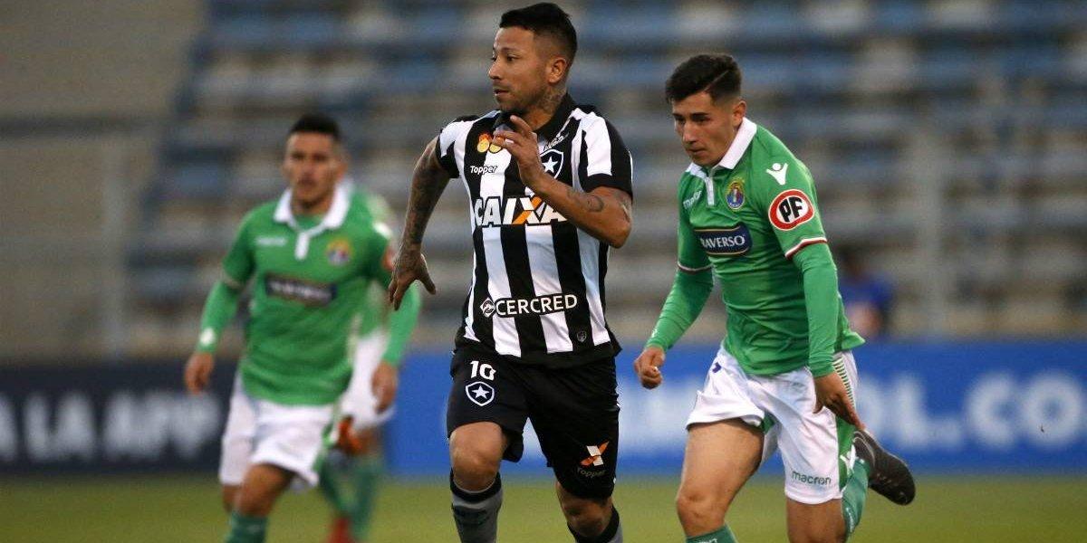 El Botafogo de Leo Valencia sigue en racha en Brasil