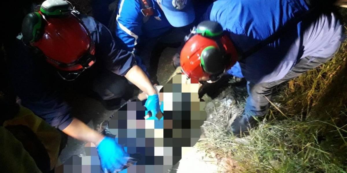 Estrangulan y abandonan cuerpo de adolescente en Bárcena