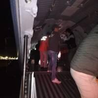 Migrantes en Tijuana reciben apoyo de dependencias federales