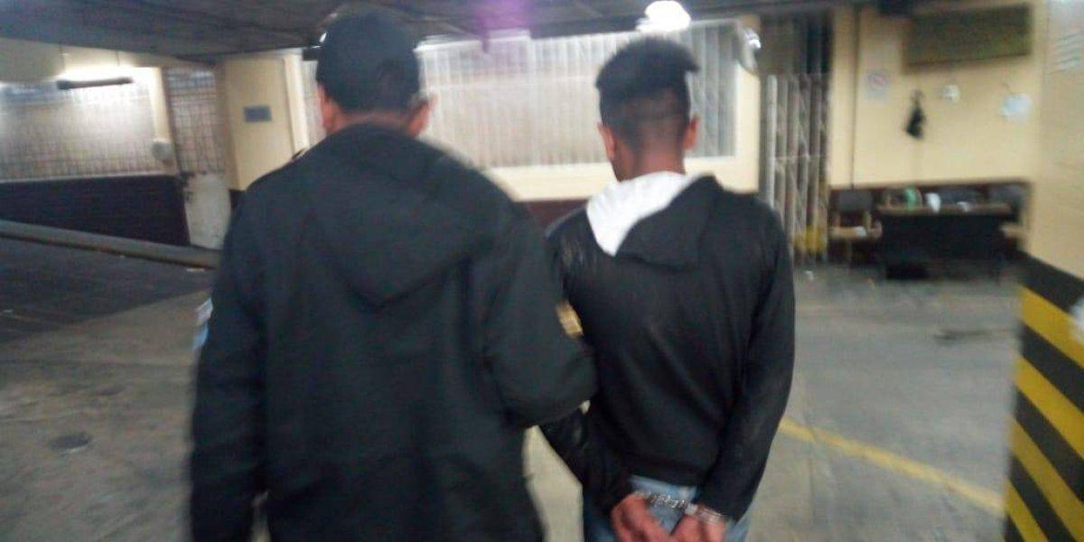 Pandillero amenazó con explotar granada en Chinautla