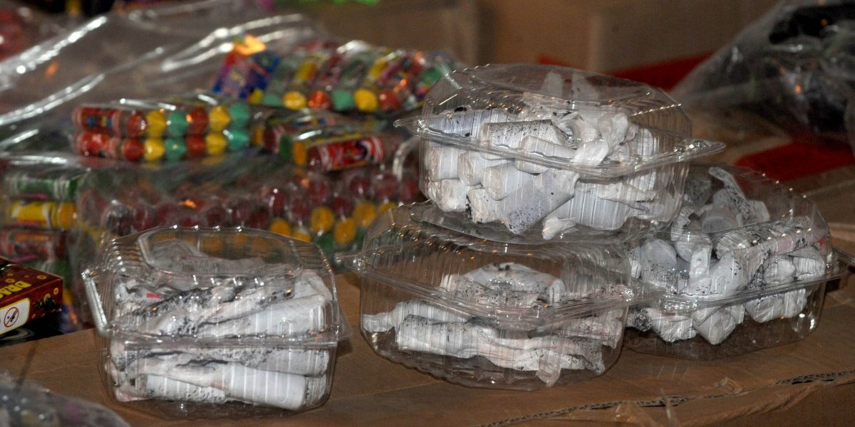 Incautan pirotecnia vendida a través de internet en Playa del Carmen