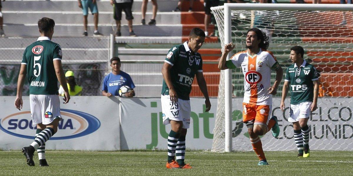 Cobresal consiguió un milagroso triunfo ante Wanderers y clasificó a la final de liguilla por el ascenso