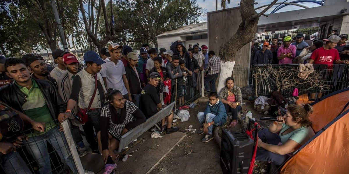 Migrantes recibirán empleo y visas humanitarias en Tijuana