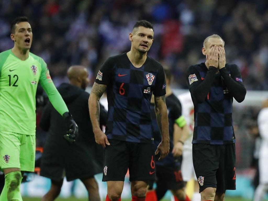 Croacia pierde contra Inglaterra en la Liga de Naciones