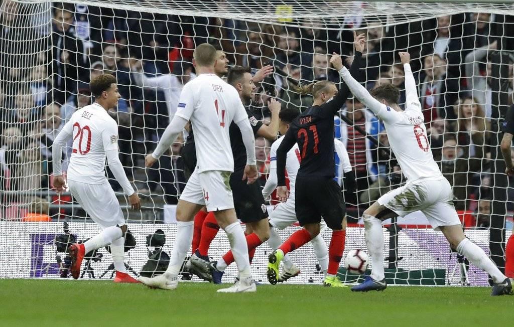 Gol de Inglaterra contra Croacia