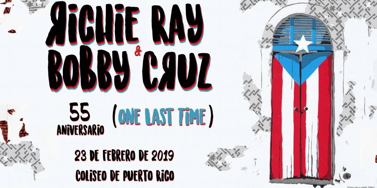 Richie Ray y Bobby Cruz regresan al 'Choliseo'