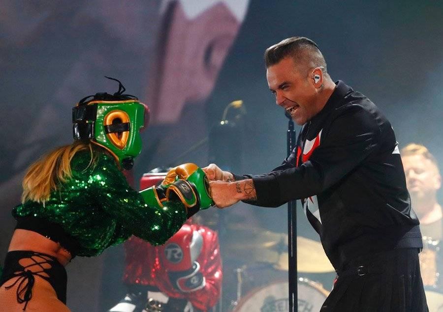 Robbie Williams en Corona Capital
