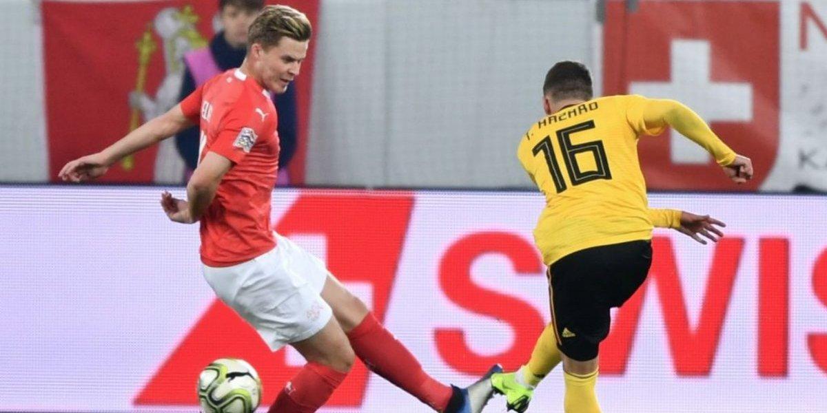 Suiza remonta y golea a Bélgica en Liga de Naciones