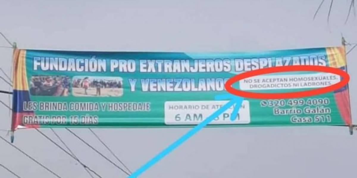 Fundación ofrece ayuda a venezolanos, excepto a quienes sean homosexuales