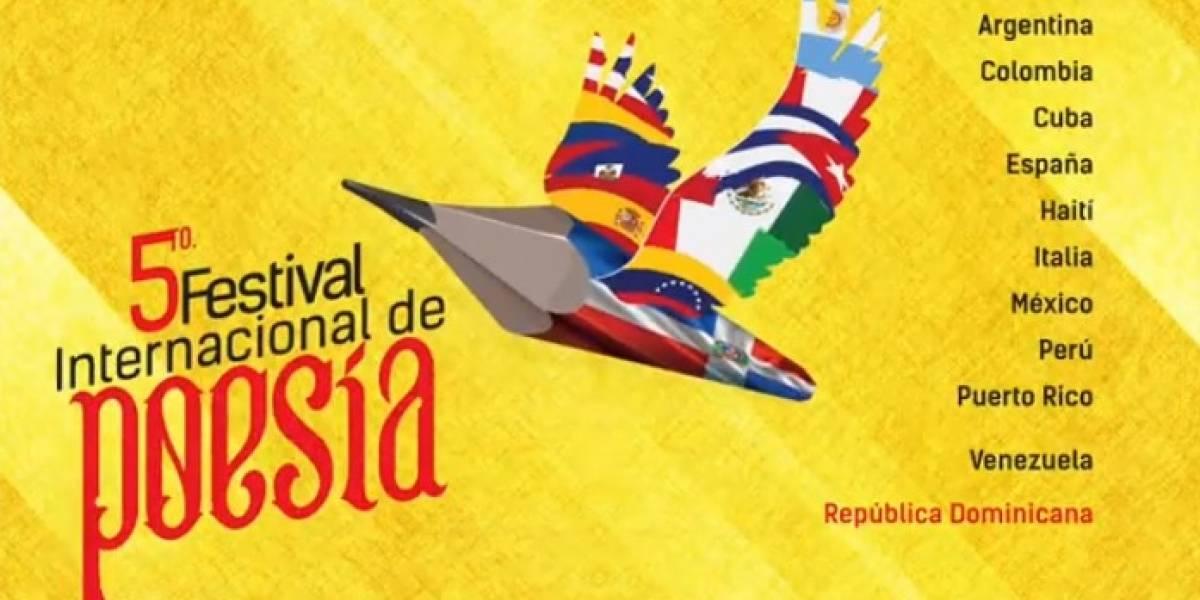 """""""V Festival Internacional de Poesía"""" inicia hoy lunes 19"""