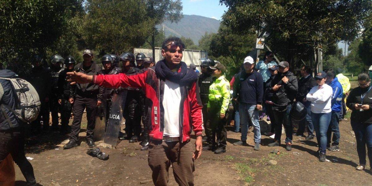 Ciudadanos venezolanos fueron reubicados de Carcelén