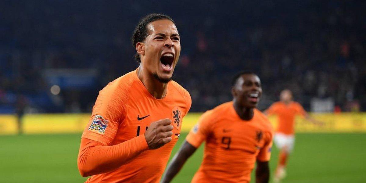 Holanda iguala con Alemania y califica a la Final Four de la Liga de Naciones