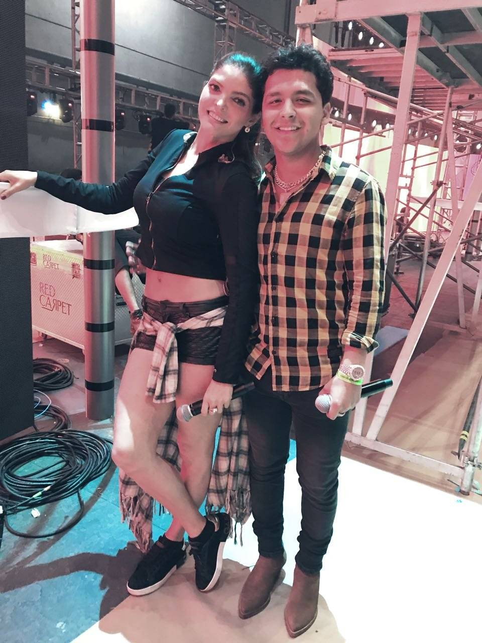 Ana Bárbara y Christian Nodal