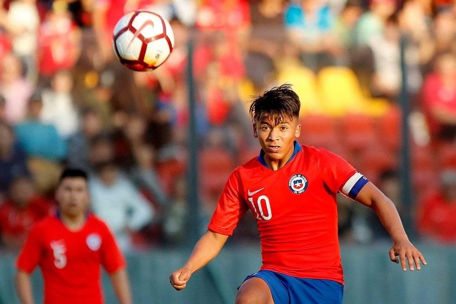 Marcelo Allende es el capitán de la Roja Sub 20 que participará en el Sudamericano de 2019 / Foto: Agencia UNO