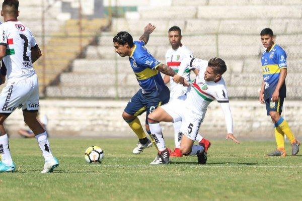 Palestino y Everton pueden zafar este fin de semana del descenso / imagen: Agencia UNO