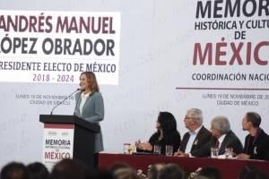 Beatriz Gutiérrez presidirá consejo asesor de Memoria Histórica y Cultural
