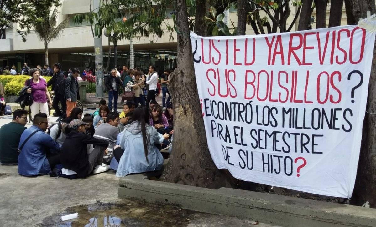 Estudiantes Universidad Nacional Cortesía