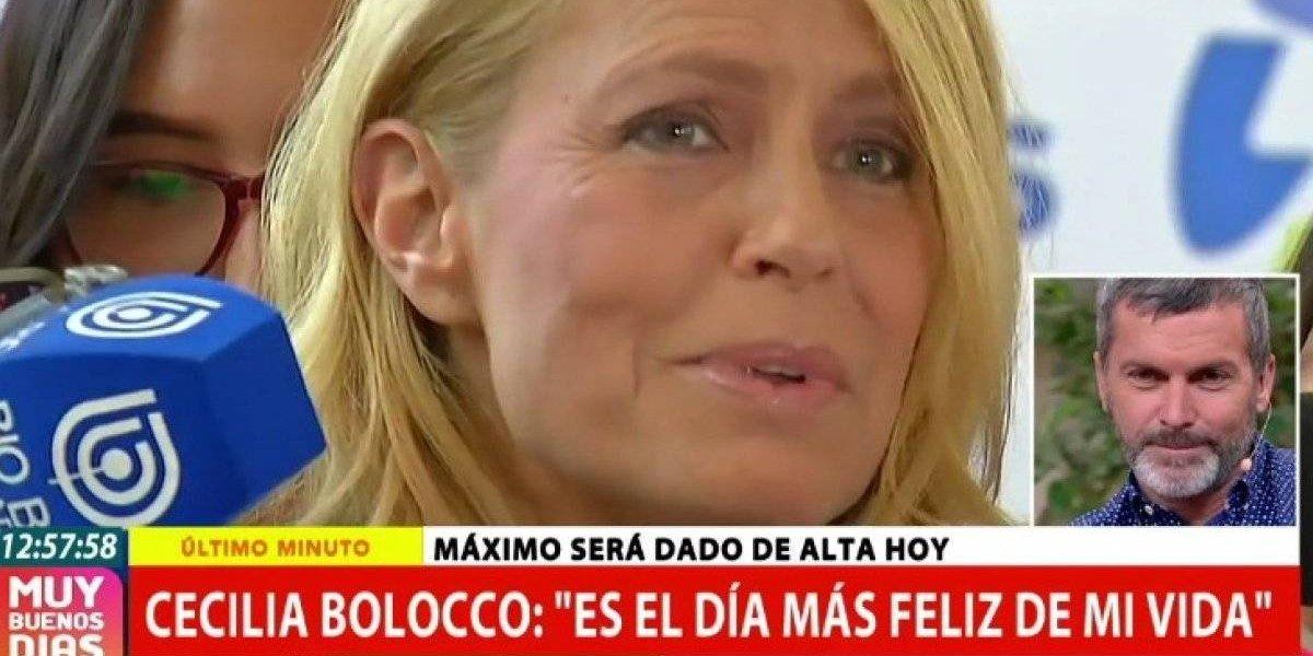 La emoción de Cristián Sánchez tras revelarse el alta médica de su sobrino Máximo