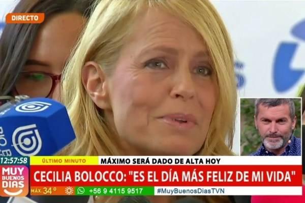 Máximo despertó y dijo ¡mama lo hice!, no me morí — Cecilia Bolocco