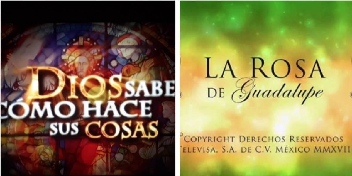Le llueven críticas a Caracol por montarle competencia a 'La rosa de Guadalupe'