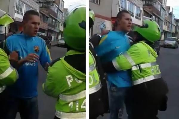 Tras ser linchado en Bogotá, ladrón pregunta por el paradero de su celular