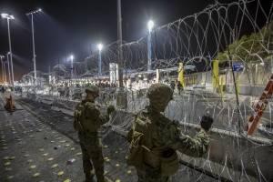 EU reabre garita de San Ysidro en la frontera con México