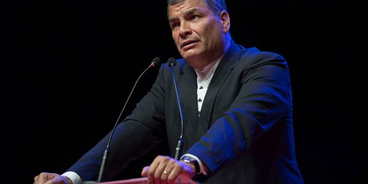Interpol rechaza el pedido de difusión roja contra Rafael Correa