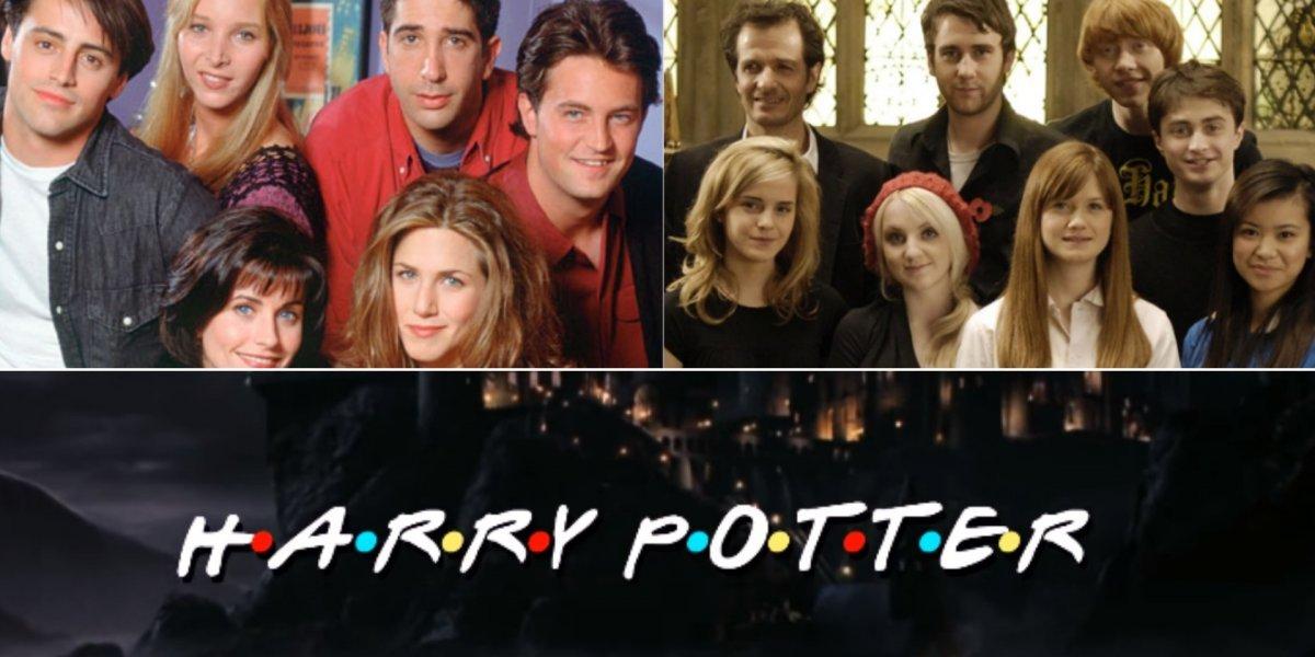 É fã de 'Friends' e 'Harry Potter'? Então você não pode perder este vídeo