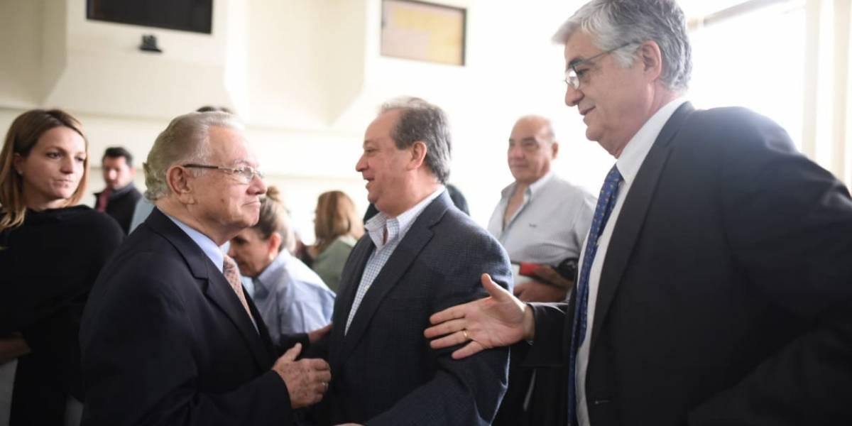 """Ex vicepresidente Stein """"no está arrepentido"""" de la CICIG"""