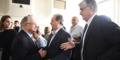 Eduardo Stein y Carlos Vielmann