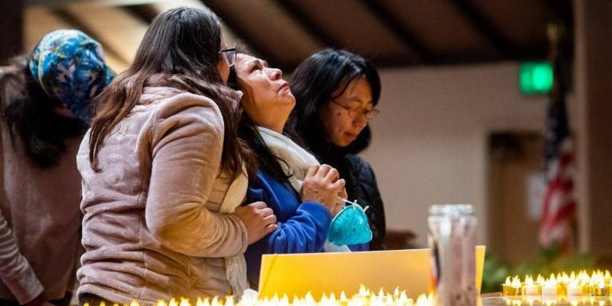 FOTOS. Emotiva vigilia por las víctimas del incendio en California