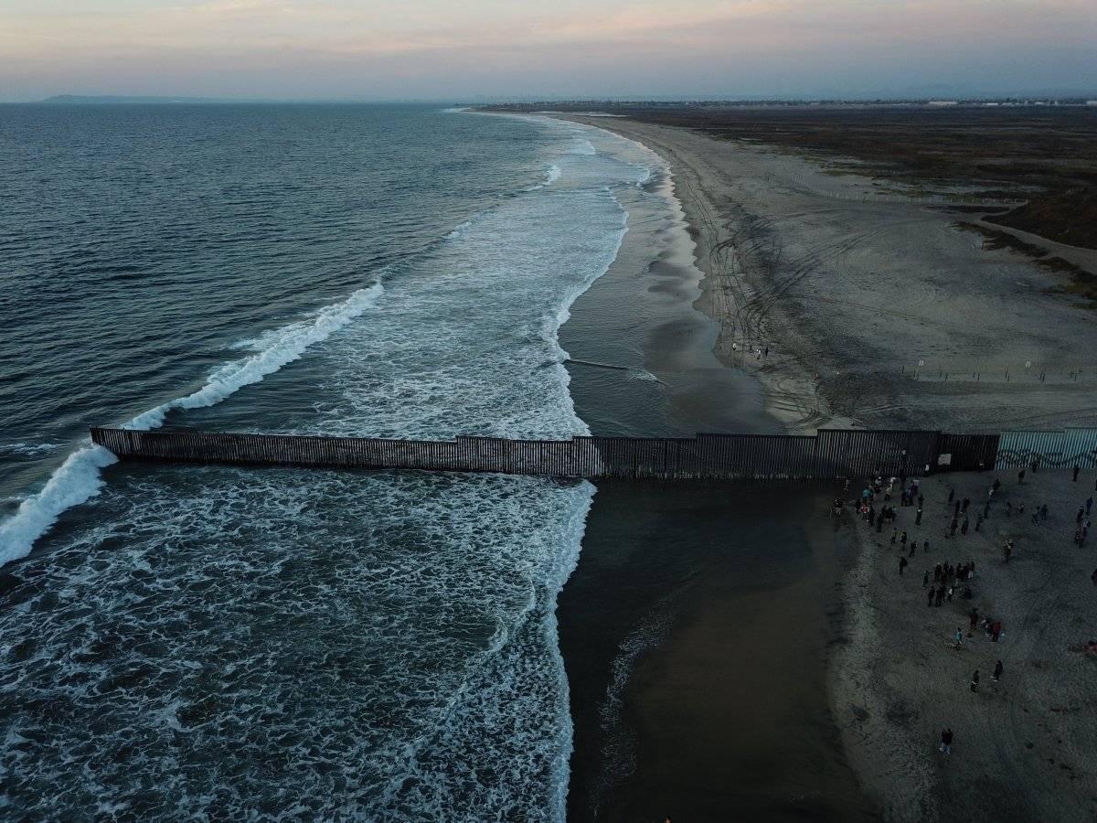 Muro fronterizo Foto: Cuartoscuro