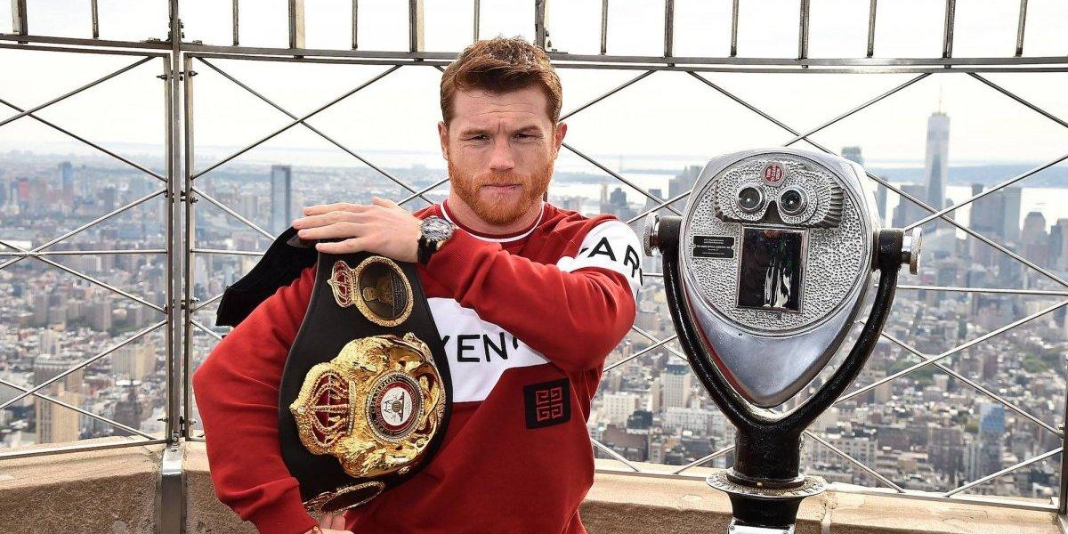 'Canelo' sueña con estar dentro de la élite del boxeo mundial