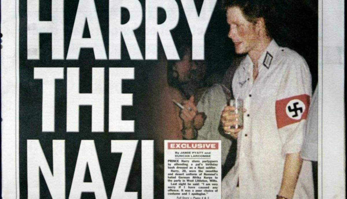 Príncipe Harry Nazi