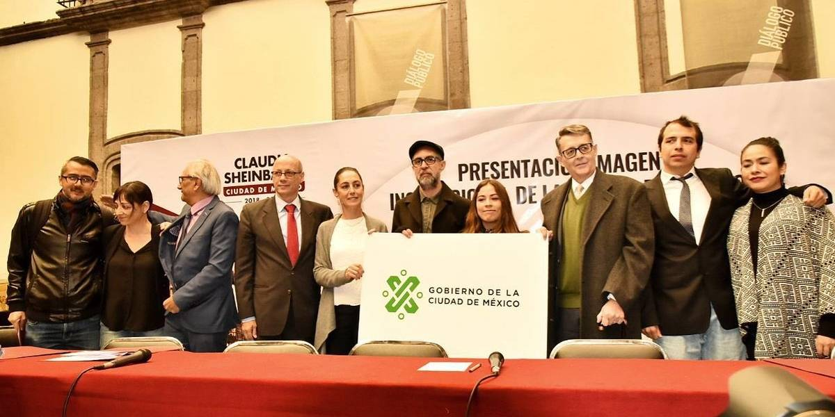 Presenta Sheinbaum nueva imagen institucional para la CDMX