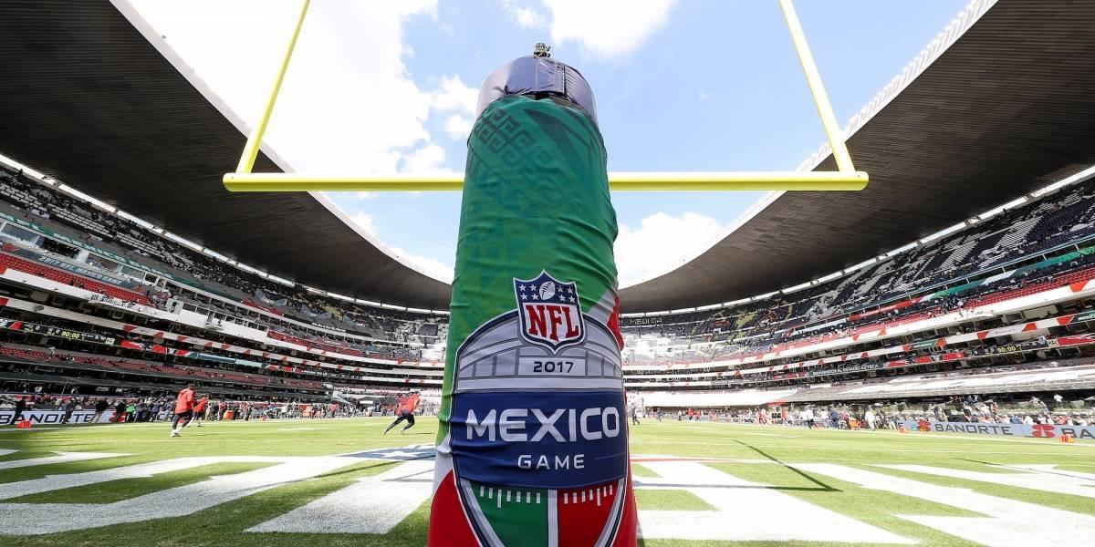 Confirma Roger Goodell partido en México para 2019 en el Estadio Azteca