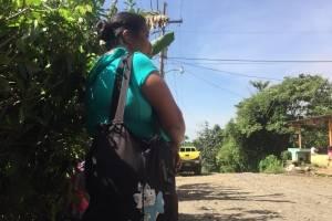 Pobladores comunidad Chuchu, Escuintla