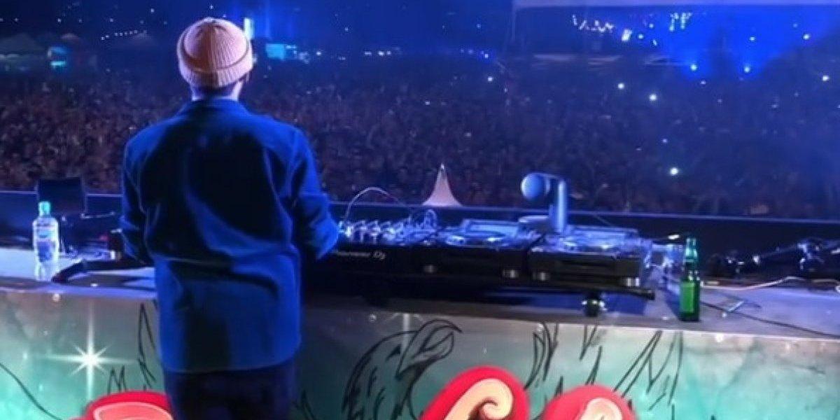 VIDEO: Chucky Lozano se roba show de famoso DJ en Guadalajara
