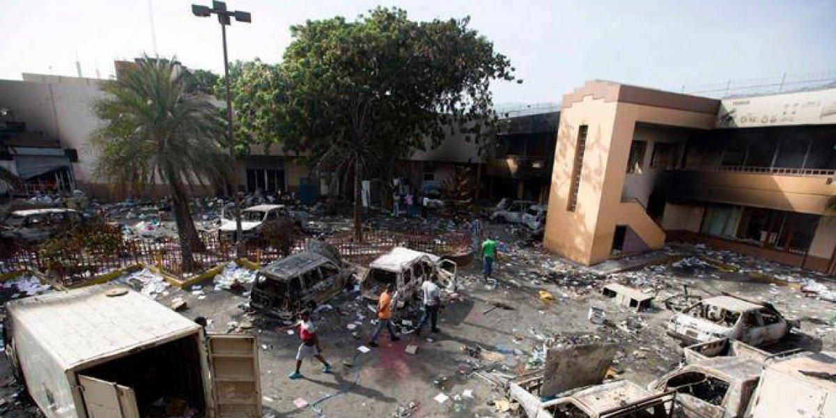 Capital haitiana amanece paralizada tras protesta que dejó al menos 6 muertos