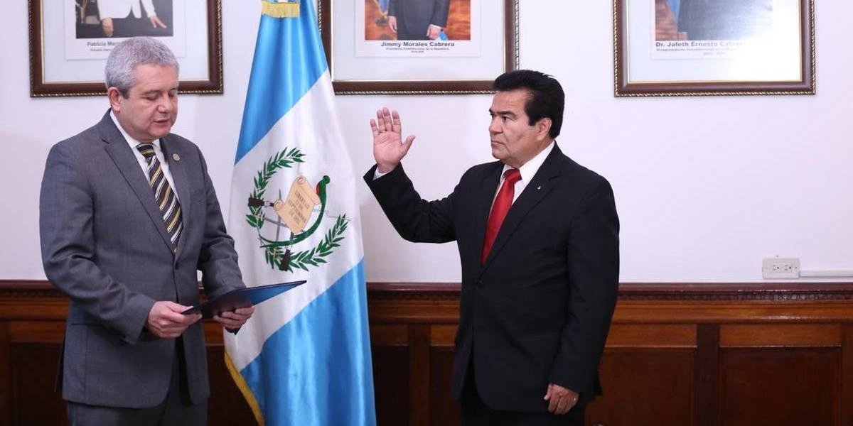 Elder Súchite Vargas nuevo ministro de Cultura y Deportes