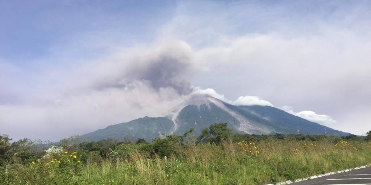 Volcán de Fuego finaliza potente fase eruptiva que dejó 4,000 evacuados en Guatemala